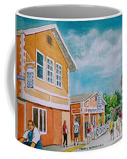 Georgetown Grand Cayman Coffee Mug by Frank Hunter