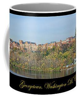 Georgetown Poster Coffee Mug