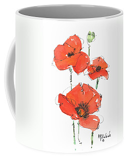 Georgetown Texas The Red Poppy Capital Coffee Mug