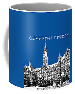 Georgetown University - Royal Blue Coffee Mug