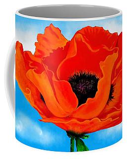 Georgia In The Sky Coffee Mug