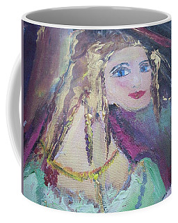 Georgiana And The Ring Coffee Mug by Judith Desrosiers