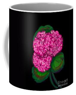 Coffee Mug featuring the digital art Geranium by Christine Fournier