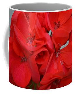 Geranium Red Coffee Mug