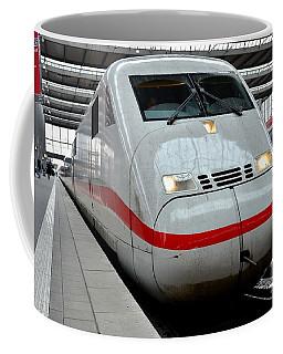 German Ice Intercity Bullet Train Munich Germany Coffee Mug