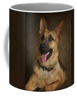 German Shepherd Portrait Coffee Mug
