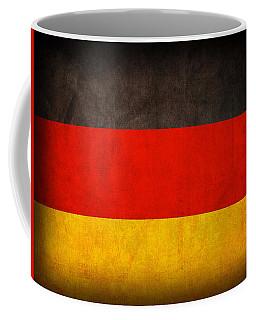 Germany Flag Vintage Distressed Finish Coffee Mug