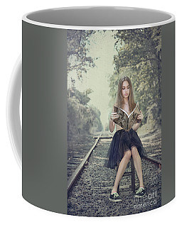 Get On The Right Track Coffee Mug