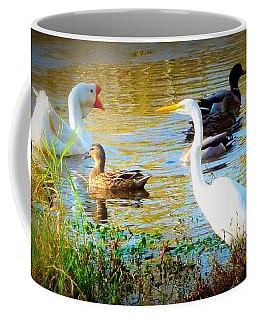 Getting Along Coffee Mug