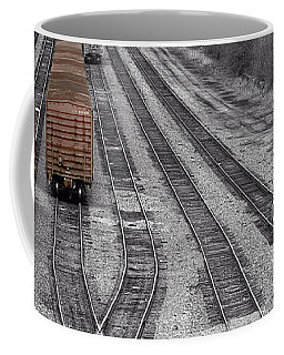 Getting On The Right Track Coffee Mug