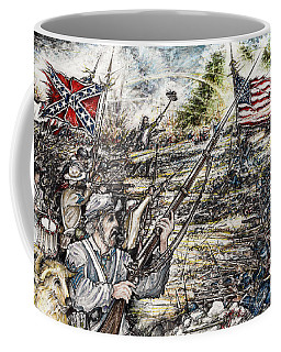 Gettysburg Ash's At The Angle Coffee Mug by Scott and Dixie Wiley