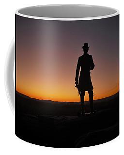 Gettysburg Sunset Coffee Mug by Ed Sweeney