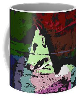 Ghost Cow Coffee Mug by George Pedro