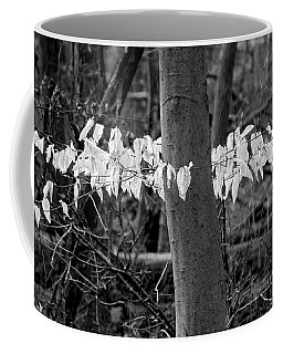 Ghost Leaves Coffee Mug