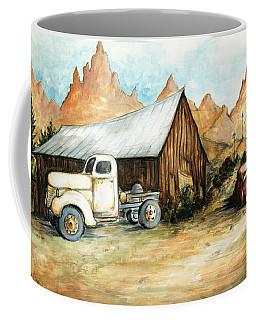 Ghost Town Nevada - Watercolor Art Coffee Mug