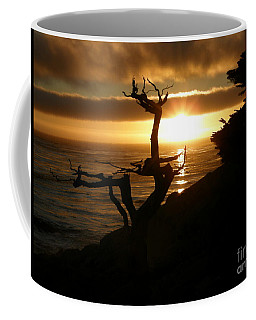 Ghost Tree At Sunset Coffee Mug