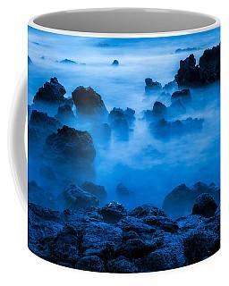 Ghostly Ocean 1 Coffee Mug by Leigh Anne Meeks