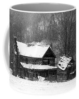 Ghosts Of Winters Past Coffee Mug by John Haldane