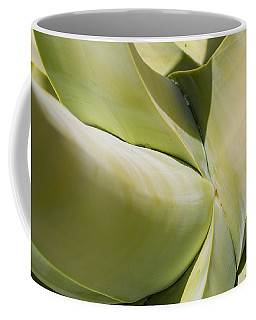 Giant Agave Abstract 9 Coffee Mug