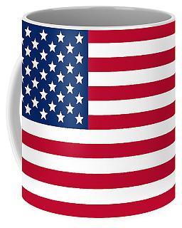 Giant American Flag Coffee Mug