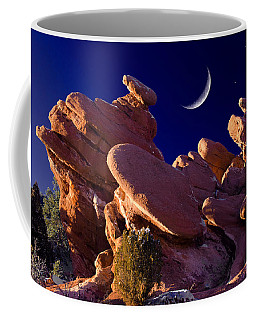 Giant Footprints At The Garden Coffee Mug