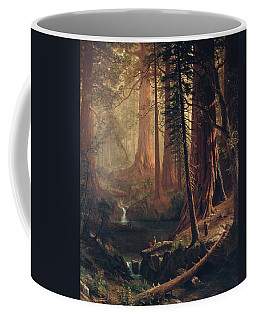 Giant Redwood Trees Of California Coffee Mug