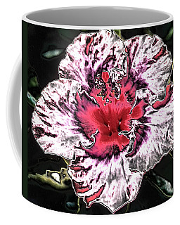 Coffee Mug featuring the photograph Giant Pink Sandstone Hibicus by Belinda Lee