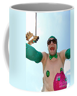 Coffee Mug featuring the photograph Giant Smile by Ed Weidman