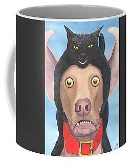 Giddyup Pink Dog Coffee Mug