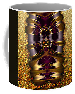 Gilded Fractal 11  Coffee Mug