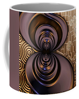 Gilded Fractal 2 Coffee Mug