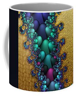 Gilded Fractal 4  Coffee Mug