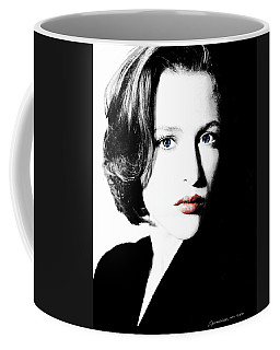 Gillian Anderson Coffee Mug