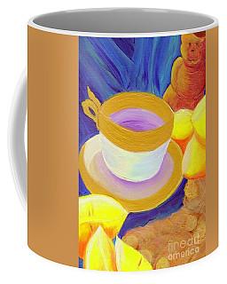 Ginger Lemon Tea By Jrr Coffee Mug by First Star Art