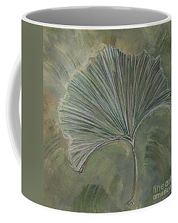 Ginko Leaf Coffee Mug