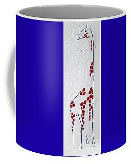 Giraffe Abstract Coffee Mug