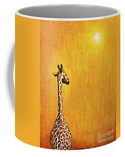 Giraffe Looking Back Coffee Mug