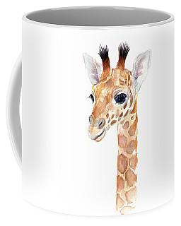 Giraffe Watercolor Coffee Mug