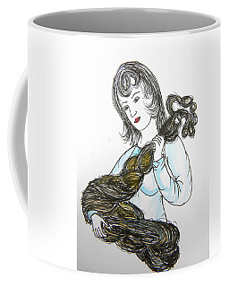 Girl And Tow Coffee Mug