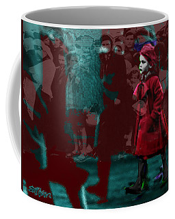 Girl In The Blood-stained Coat Coffee Mug by Seth Weaver