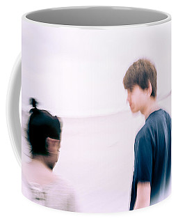 Coffee Mug featuring the photograph Girl Its Almost Like You're There by Wade Brooks