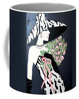 Girl That Loves Pink  Art Deco Coffee Mug