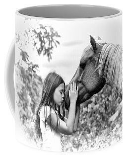 Girls And Their Horses Coffee Mug