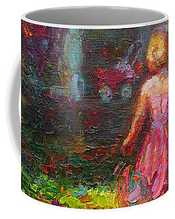 Coffee Mug featuring the painting Girls Will Be Girls by Talya Johnson