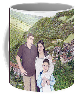 Giusy Mirko And Simone In Valle Castellana Coffee Mug