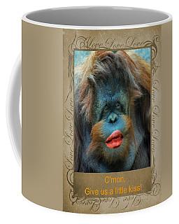 Give Us A Little Kiss Coffee Mug