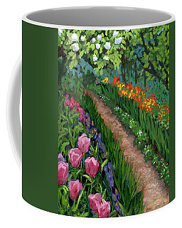 Giverny Garden Coffee Mug