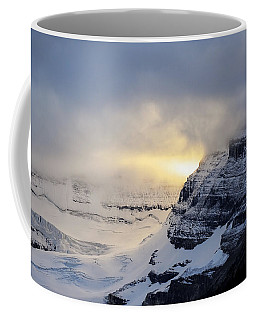 Glacier Above Lake Louise Alberta Canada Coffee Mug