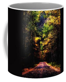 Glacier Fall Road Coffee Mug