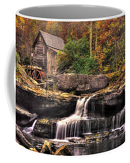 Glade Creek Grist Mill 1a - Autumn Late Afternoon Babcock State Park Wv Coffee Mug